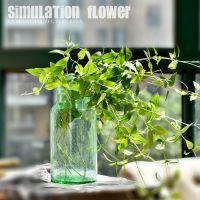 仿真假花植物绿植花束配叶插花装饰卧室客厅餐厅花店花艺搭配用品