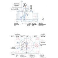 出售二手PGZ-1250型平板全自动刮刀卸料衬塑离心机