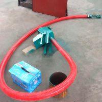 都用-水稻装仓软管吸粮机 6米长玉米装车抽粮机 小型吸粮机厂家
