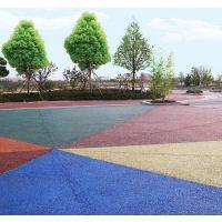 彩色透水混凝土高强度质量保证专业队伍设计施工服务