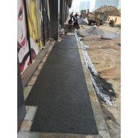 重庆市开县彩色透水混凝土路面 透水地坪材料 透水混凝土增强剂 透水地坪胶结料 彩色压模压印混凝土