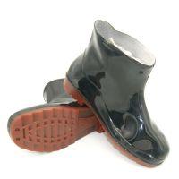 上海双钱男士低筒劳保水鞋套脚防滑厨房工作黑色雨靴揭阳厂家直销