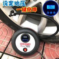 新 数控车载充气泵汽车用打气泵12V便携式小轿车电动轮胎加打气筒