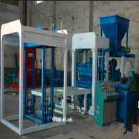 吉林蛟河全自动小型水泥砖机多少钱一台 液压免烧砖机 砌块机厂家