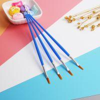 厂家现货销售 数字油画笔 儿童 diy绘画笔 画白呸排笔