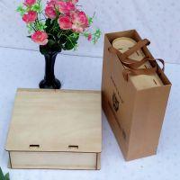 中秋新款木制茶叶盒 茶叶包装盒 茶叶礼品盒 七子饼茶盒包装 批发