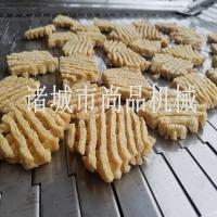 休闲食品兰花干油炸设备报价 豆腐串油炸机日常维护技巧