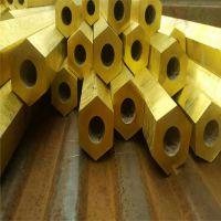 螺母H59六角黄铜管19*10mm黄铜管24*12mm厚壁黄铜管挤压铜管32*18