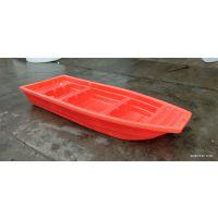 新款2.8米塑料渔船江西加厚双人塑胶小船