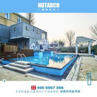 原筑新品耐候钢集装箱民宿设计施工安装杭州集装箱厂家