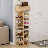 靴子下落地鞋架特价经济型家用家里人超多功能带鞋柜入门创意