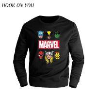 外贸新款冬季青少年学生漫威漫画 Marvel卫衣男休闲外套衣服潮