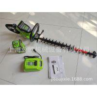 格力博greenworks40V80V电动绿篱机锂电园林绿化修剪机篱笆修剪机