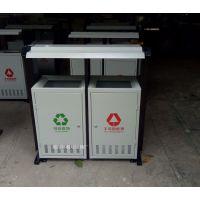 环畅hc2249垃圾桶 宜宾学校垃圾箱 校园钢板垃圾箱 可喷印标语