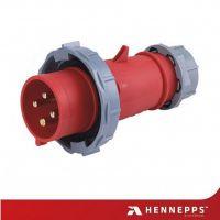 16A工业防水插头插座 航空地铁连接器 转换器 HN282 汉奈德国正货
