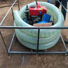 耐磨胶管麦子吸粮机 润丰 全自动农用10米抽粮机厂家