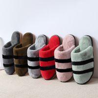 2018新款棉拖鞋  室内情侣家居拖鞋冬季保暖防滑防水拖鞋一件代发
