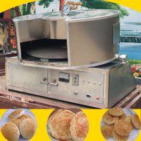 流动转炉烧饼机 全自动烧饼炉 五香吊炉烧饼炉技术 夹馅烧饼炉