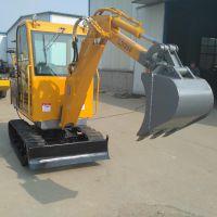 高质量360度纯电动微小型履带式挖掘机多功能小型工程挖掘机械