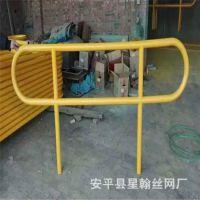 厂家直销热镀锌移动插拔式防护栏 内蒙插拔活动护栏网 高速活动护