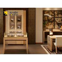 融润厂家生产制作PVC板珠宝展柜 商场珠宝柜台设计 中高端珠宝展示柜