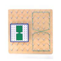 蒙特梭利蒙氏教具益智图形玩具几何形状数学早教幼儿园0-3-4-6岁