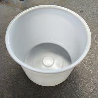 600L塑料圆桶 大口鸭蛋腌制桶 酿酒发酵桶 pe牛筋塑料桶 600升白色大水桶 鱼苗养殖桶