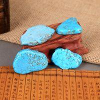 饰品配件天然松石随形片 DIY饰品配件 随形松石散件原石批发