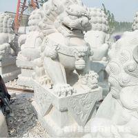 精品热卖石雕狮子 各种动物石雕石狮子厂家加工定做