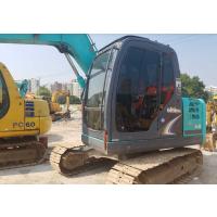 低价 转让二手神钢75-8挖机性能极佳 纯土方挖掘机
