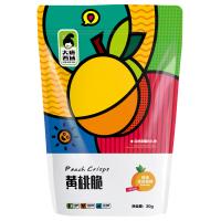 新疆大唐西域健康零食水果脆冻干黄桃