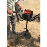 掏管桩芯泥土设备 鑫农XN900带支架升降管桩掏泥机几分钟一个孔