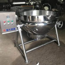 山楂糕蒸煮夹层锅 电加热可倾式夹层锅