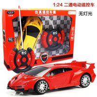 2938二通仿真遥控玩具1:24不包电带方向盘 儿童汽车模型-6批发