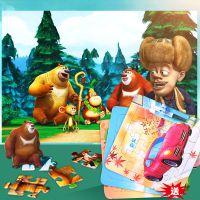 40片纸质拼图3-4-5-6-7-8岁幼儿童宝宝益智力开发男女孩早教玩具