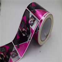 深圳PVC铜版纸不干胶日用品标签卷装不干胶贴纸印刷厂