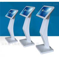 鑫飞智显供应图书馆32寸XF-GG0001B高清液晶显示屏安卓红外触控立式智能查询广告一体机