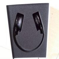 厂家定做海棉植绒礼品盒内托手表耳机内衬 电子海绵
