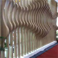 广州弧形铝方通 亭宇铝方通天花 吊顶规格