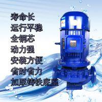 直销ISG立式管道泵离心泵380V消防泵 热水锅炉循环泵冷却塔加压泵