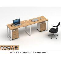 简约办公家具屏风卡位10人位组合工作位职员电脑办公桌椅员工桌