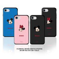 韩国正品迷你米奇苹果X手机壳双层iphone8插卡三星s9puls防摔保护