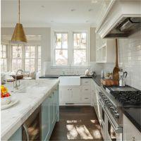 工厂免费定制尺寸颜色造型 厨房橱柜地柜壁柜高柜 免费测量设计