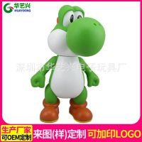 日本动漫人物搪胶玩具摆件PVC搪胶公仔来图来样加工定制厂家