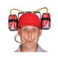 搞怪 安全帽子喝啤酒创意吸管玩具 Drinking Helmet Drinking Hat