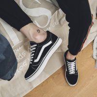 批发男鞋夏季情侣帆布鞋透气百搭原宿ulzzang鞋潮流学生休闲板鞋
