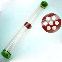 漂筒 透明塑料票筒 直径4.5 长度50公分 60公分 浮漂筒 装漂桶管