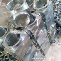 广州良工厂家直销消防高压管件螺纹弯头 螺纹三通各种型号