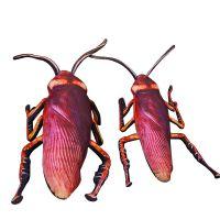 蟑螂抱枕创意网红同款仿真蟑螂抱枕公仔恶搞小强毛绒玩具送女生礼