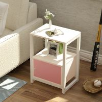 简易卧室简约现代床柜收纳小柜子组装储物柜宿舍床头柜组装床边柜